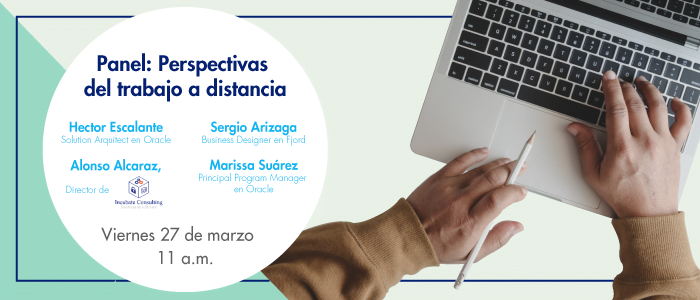 Panel: Perspectivas del trabajo a distancia