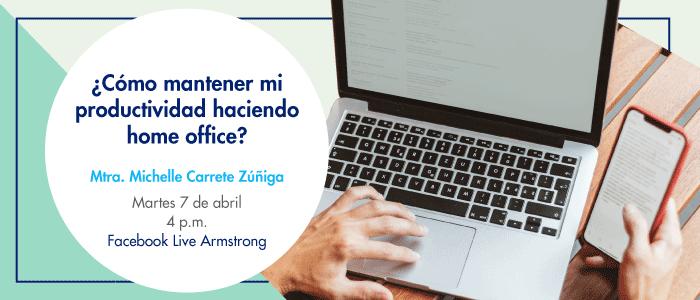¿Cómo mantener mi productividad haciendo home office?